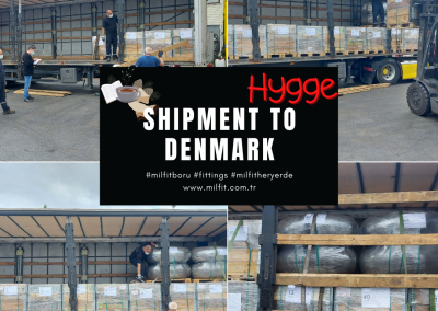 Our fittings shipment to Denmark